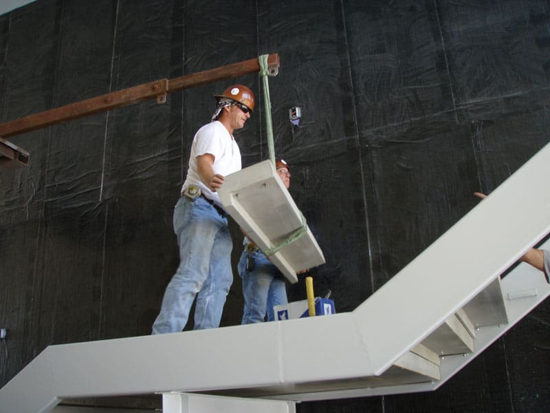 Installing Stair Tread